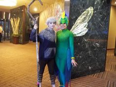 Anime Cosplay   Jack Frost and Tooth Fairy @ Anime Matsuri 2013 by ~musesandmelodies ...