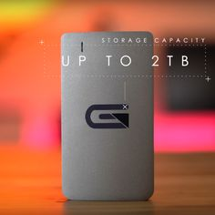 The Atom RAID External SSD is a Blazing Fast External Drive Providing 2TB of Storage and Transfer Speeds Up to 850 MB/s