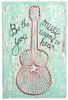 Happy Monday, y'all! Be the music you want to hear! #motivationmonday
