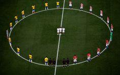 Brazil 2014 World Cup Opening Match - Brazil vs Croatia
