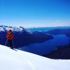 Guided Skitouring in northern Patagonia, Bariloche. September is a perfect month for it. Make sure you take a local UIAGM mountain guide. We recommend Federico Arletti: federico English,Spanish, French Ski Touring, Volcano, Alps, Patagonia, Skiing, Spanish, September, English, Tours
