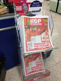 Sport Media publish the monthly Liverpool magazine The Kop Magazine, on sale throughout UK as well as digital edition worldwide.