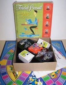 Trivial Pursuit book edition - I have this one, but, for some reason, no one ever wants to play with me :(