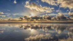 reflectie wolken
