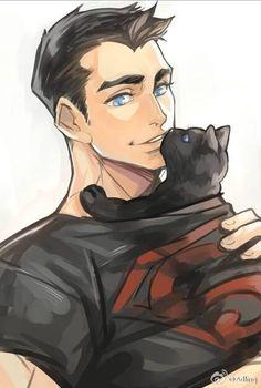 Aaawwww so cute kon and kitty