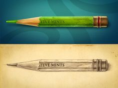 #Pencil #Illustration Design