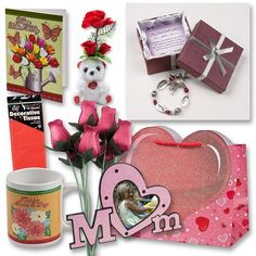 "Mothers Day Gift Set Complete with Gift Bag, Red Tissue Paper, Love Mother Forever Bracelet, Bouquet of 8 Wire Stem Burgundy Roses, ""I Love You"" Mini Bear, Large Greeting Card, Picture Frame and Mug! Gift Boutique http://www.amazon.com/dp/B00IZJSJEC/ref=cm_sw_r_pi_dp_vf-nvb0ZVQEWB"