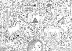 Bri anda dibujando: My Illustrations