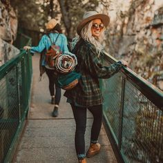 Cute hiking outfit, cute adventuring outfit, or even a cute camping outfit. Just… Cute hiking outfit, cute adventuring outfit, or Cute Camping Outfits, Cute Hiking Outfit, Trekking Outfit, Cute Outfits, Summer Hiking Outfit, Mountain Hiking Outfit, Hiking Boots Outfit, Duck Boots Outfit, Cute Travel Outfits