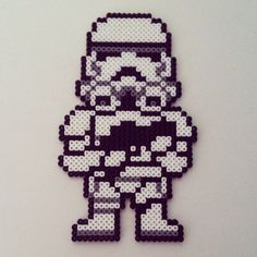 Stormtroopes - Hama Beads // Price: 9€ // Height: 22 cm - Width: 13,5 cm // Worldwide shipping