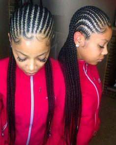 STYLECASTER | Protective Hairstyles to Try | Straight Back Cornrows #braids