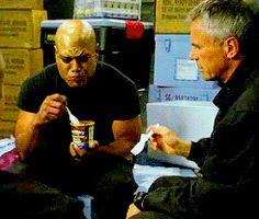 Stargate SG-1. Love this scene :D. Full gif set: http://stargateforever.tumblr.com/post/88755089266