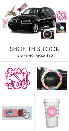 """""""dream car <3"""" by the-southern-prep ❤ liked on Polyvore featuring BMW, Lilly Pulitzer, women's clothing, women, female, woman, misses and juniors"""