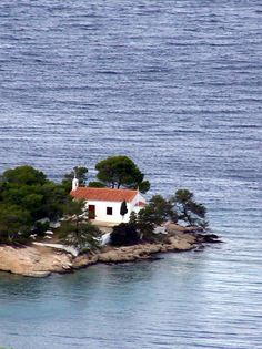 Zogeria - Spetses, greece Greece Islands, Mediterranean Sea, Greek, Around The Worlds, In This Moment, House Styles, Beach, Water, Outdoor