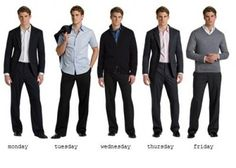 Monday to friday casual office/workwear everyday ideas mix and match