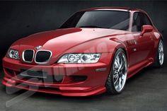 BMW Z3 Front Bumper - Evo