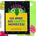 Séquence couleurs et parties du visage : Go away big Green Monster, dans le Hors-Série La Classe (lien TICE et