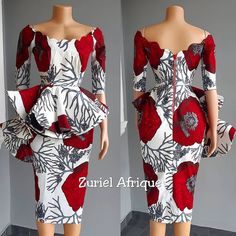 Creative Ankara Gown Styles and Designs for Beautiful Ladies African Fashion Ankara, African Inspired Fashion, Latest African Fashion Dresses, African Print Fashion, Africa Fashion, Short African Dresses, African Print Dresses, Short Gowns, Nigerian Fashion Designers