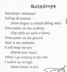 Rain song: for U week