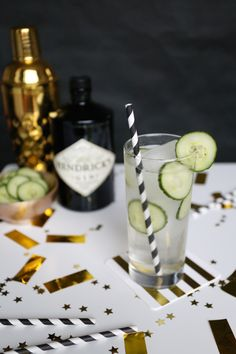 Benedict Cucumberbatch (ha) cocktail recipe - perfect for Oscars night!