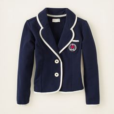 girl - preppy knit blazer | Children's Clothing | Kids Clothes | The Children's Place