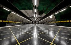 Stockholm – Place With Amazing Underground Art In Metro Station