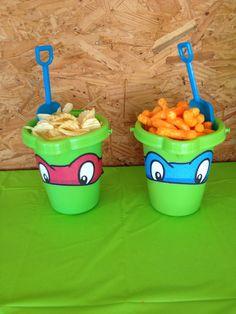 Ninja turtle snack idea                                                                                                                                                     Más