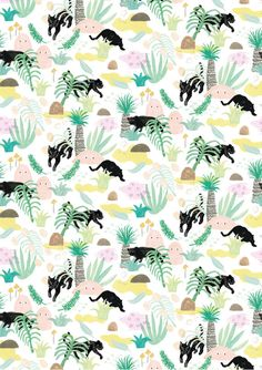 Walkabout Print by Min Pin £13.00 #illustration