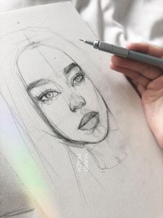 New Art People Sketches Portraits Ideas Portrait Sketches, Pencil Portrait, Art Drawings Sketches, Cartoon Drawings, Cool Drawings, Pencil Drawings, Illustration Sketches, Sketches Of People, Drawing People