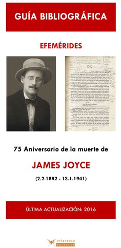 Bilbiografía sobre la obra de James Joyce