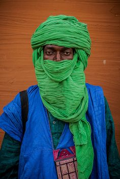 Portrait of a Tuareg in Segou, Mali by anthony pappone photographer, via Flickr