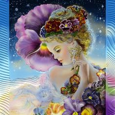 My Lady Unicorn Fairy Statue Queen of The Atlantis Artist Josephine Wall Nymph