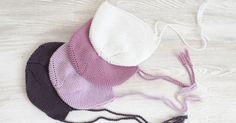 ¡Buenos días! Hoy os enseñaré a tejer una capota para bebé.       Materiales   Madeja de lana del color que más os guste*  Agujas de tejer d...