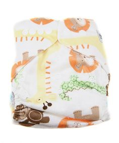 This Safari Fun Minky Pocket Diaper by MG Baby is perfect! #zulilyfinds