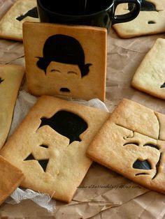 Charlie Chaplin cookie