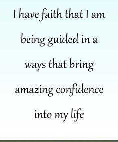 I have Faith!