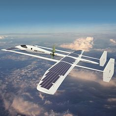Suntoucher solar powered concept aircraft, by Samuel Nicz #suntoucher #aircraft #airplane