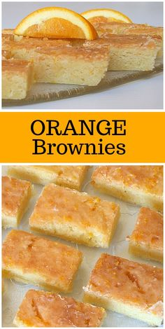 Food Recipes: Paula Deen'S Orange Brownies Cookie Dough Cake, Chocolate Chip Cookie Dough, Chocolate Brownies, Fudgy Brownies, Orange Brownies, Brownie Recipes, Dessert Recipes, Orange Dessert, Wow Recipe
