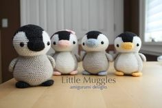 Mesmerizing Crochet an Amigurumi Rabbit Ideas. Lovely Crochet an Amigurumi Rabbit Ideas. Crochet Penguin, Crochet Birds, Crochet Animals, Crochet Diy, Love Crochet, Crochet Crafts, Yarn Crafts, Crochet Projects, Amigurumi Free