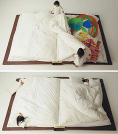 The book bed