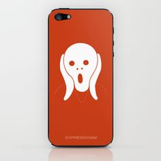 EXPRESSIONISM iPhone & iPod Skin by Outmane Amahou - $15.00