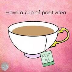 Ah, the cup that cheers – have a positive and peaceful Sunday. Many Blessings, Cherokee Billie