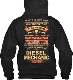 Diesel Mechanic- Limited Edition