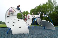 Mobius Playground Climber - Kids Climbing Wall | Landscape Structures