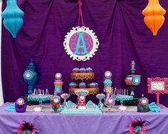 Arabian Princess Jasmine Inspired Birthday Party