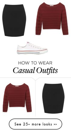 """Casual"" by ninastan on Polyvore featuring Rebecca Minkoff and Converse"