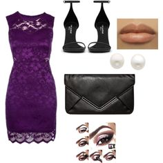 """""""Wedding guest dress"""" by mtizard on Polyvore....... Would prefer a more nude peep toe heel"""