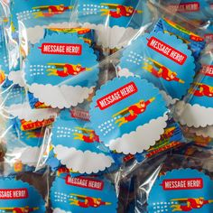 Message Hero sweets