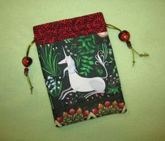 Magickal Tarot Card Bag Unicorn Lore Fantastical Journey of Mythical Creatures