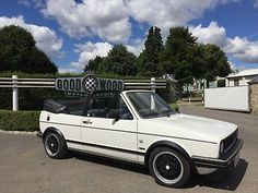 eBay: vw golf cabriolet Cab convertible Mk1 (Not a GTi) 1600cc + BBS Alloys #classiccars #cars